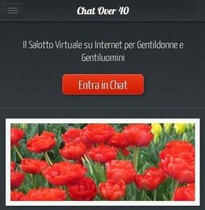 Chatover40: chat gratuita per gli over 40. Funziona?