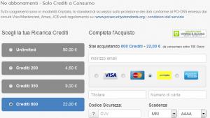 youppido crediti costi pagamento