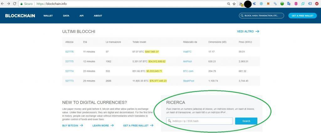 come controllare bilancio portafoglio bitcoin
