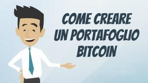 come creare un portafoglio bitcoin