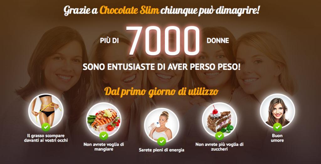 chocolate slim come funziona davvero benefici