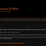 I racconti di Milu: storie erotiche e fantasie. Alternative se ti sei stancato di immaginare e basta!