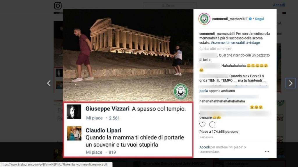commenti memorabili siti simili alternative facebook