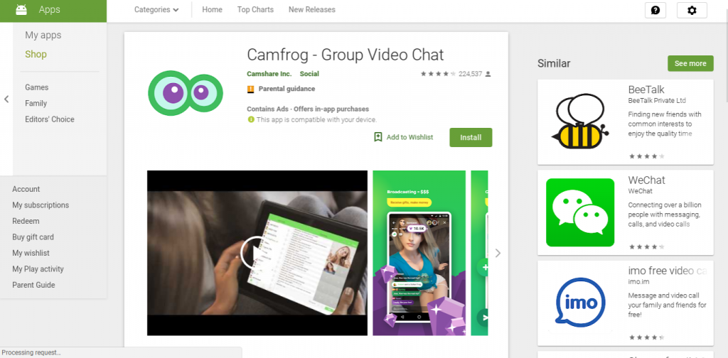 camfrog app siti simili alternative