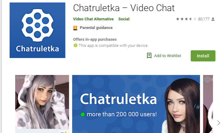 app chatruletka chat video