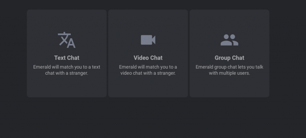 emeraldchat funzioni video chat