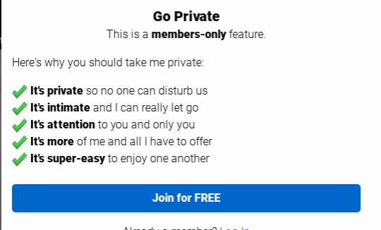 ifriends show privato cam prezzo quanto costa