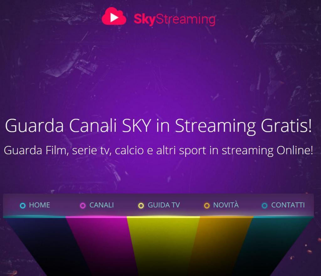 iptv sky canali in streaming gratis