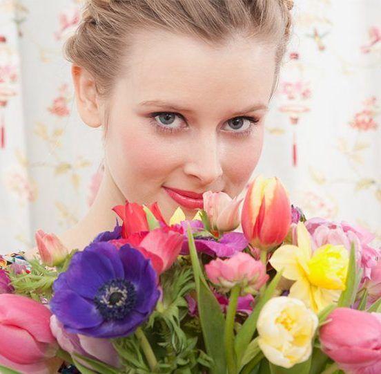 scegliere fiori per una donna