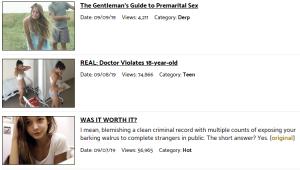 inhumanity video porno divertenti siti simili