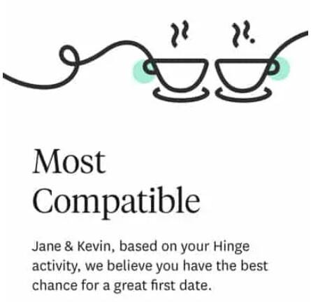hinge suggerimenti compatibilità